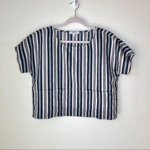 Madewell Evelyn Boxy shirt. Size Small
